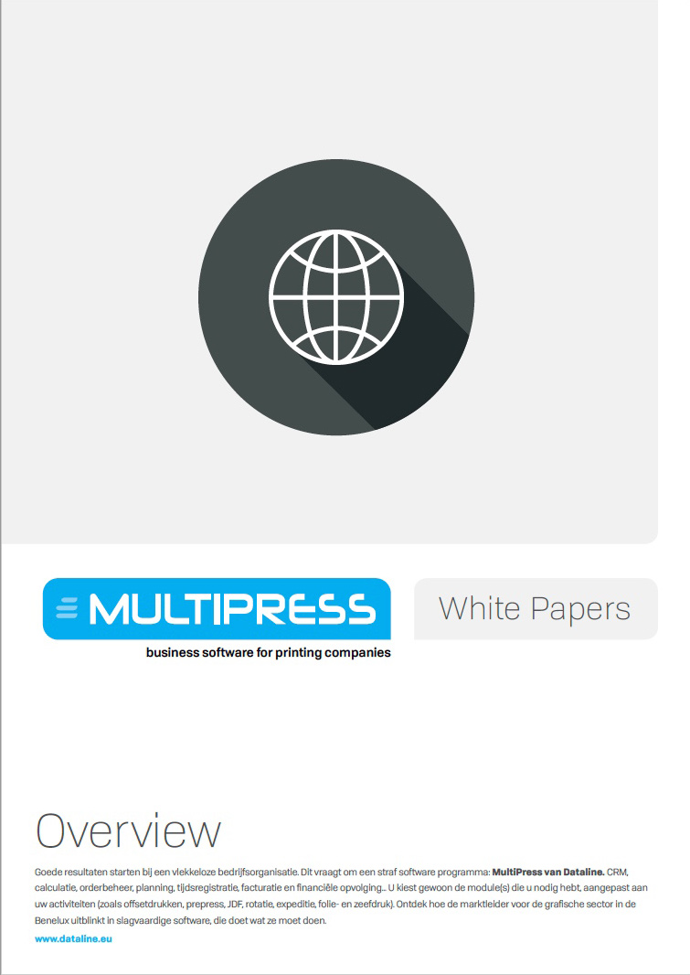 Cover whitepaper MultiPress overview